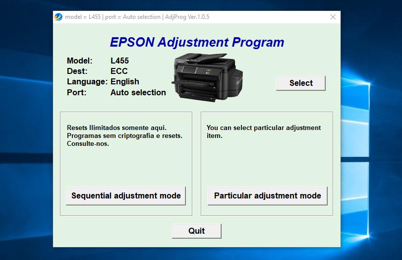 Cara Mengatasi Printer Epson L1455 Service Required