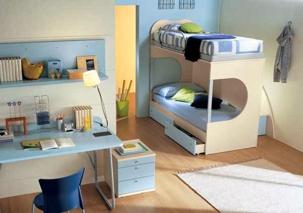dormitorio litera niños
