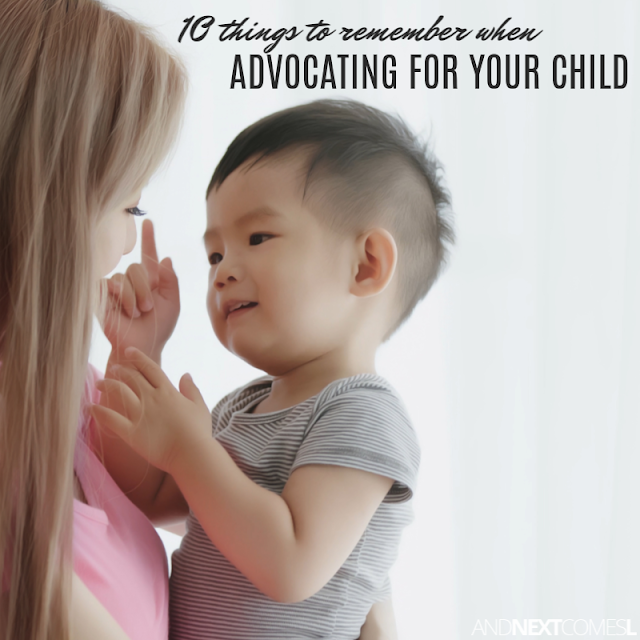 Advocacy tips for parents