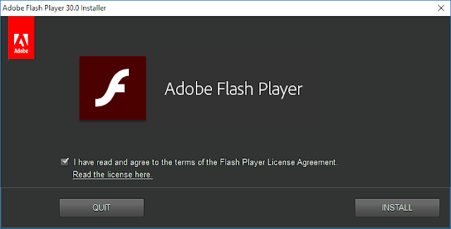 Adobe Flash Player 30.0.0.134 Offline Installer