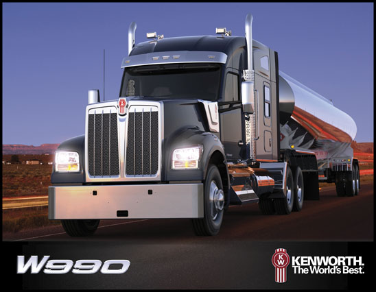 Cover of the 2019 Kenworth W990 Brochure
