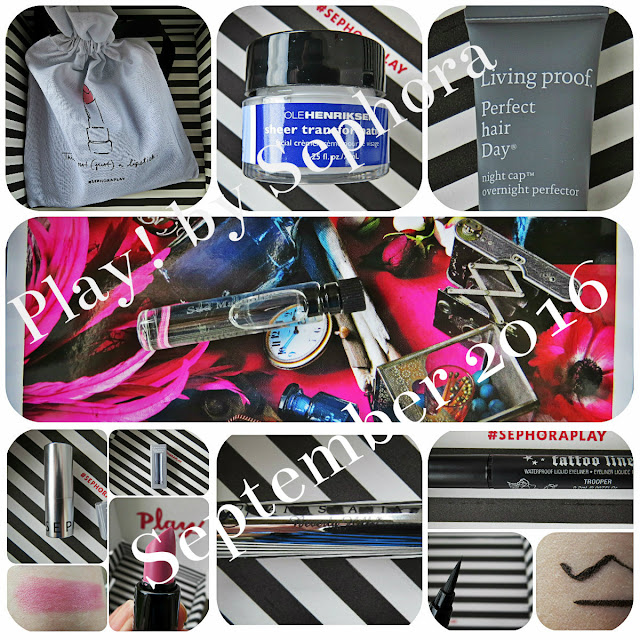 September 2016 Play! by Sephora Review