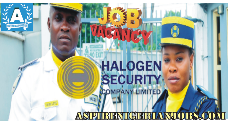 Halogen Security Company Limited Recruitment
