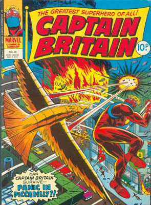 Marvel UK, Captain Britain #30, Lord Hawk