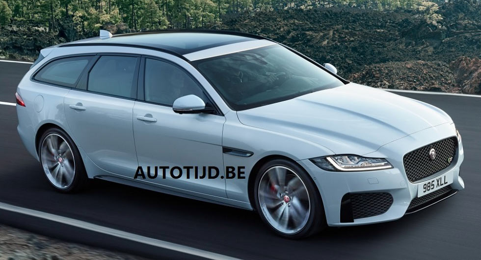 The 2018 Jaguar XF Sportbrake Is Bringing Its Gorgeous Looks To America