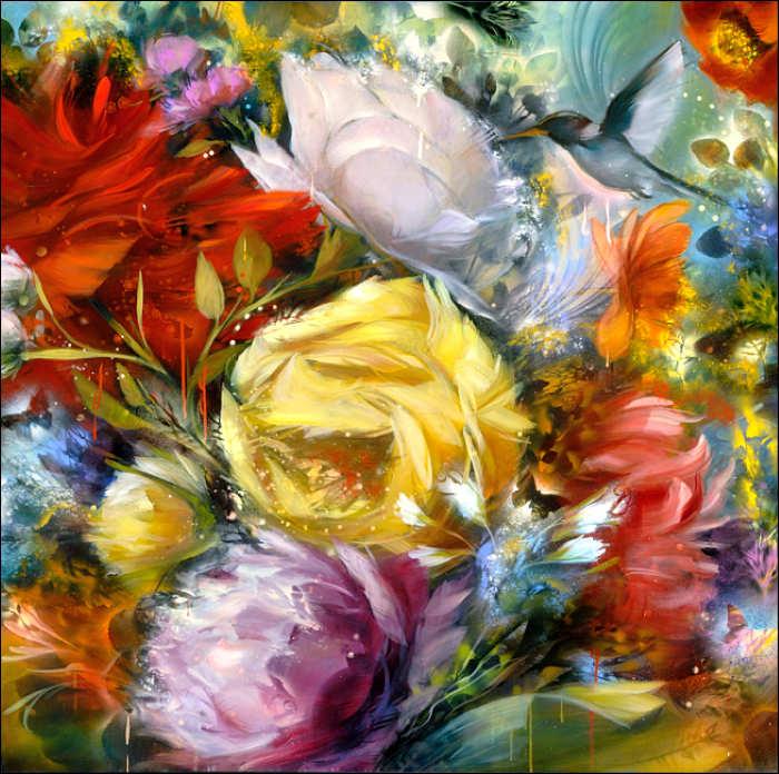 Рисунки цветов. Carmelo Blandino 5