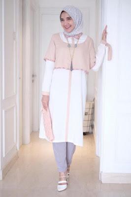 zaskia sungkar Baju Lebaran Modern HIjab Manis Model Cewek IGOwebstagram