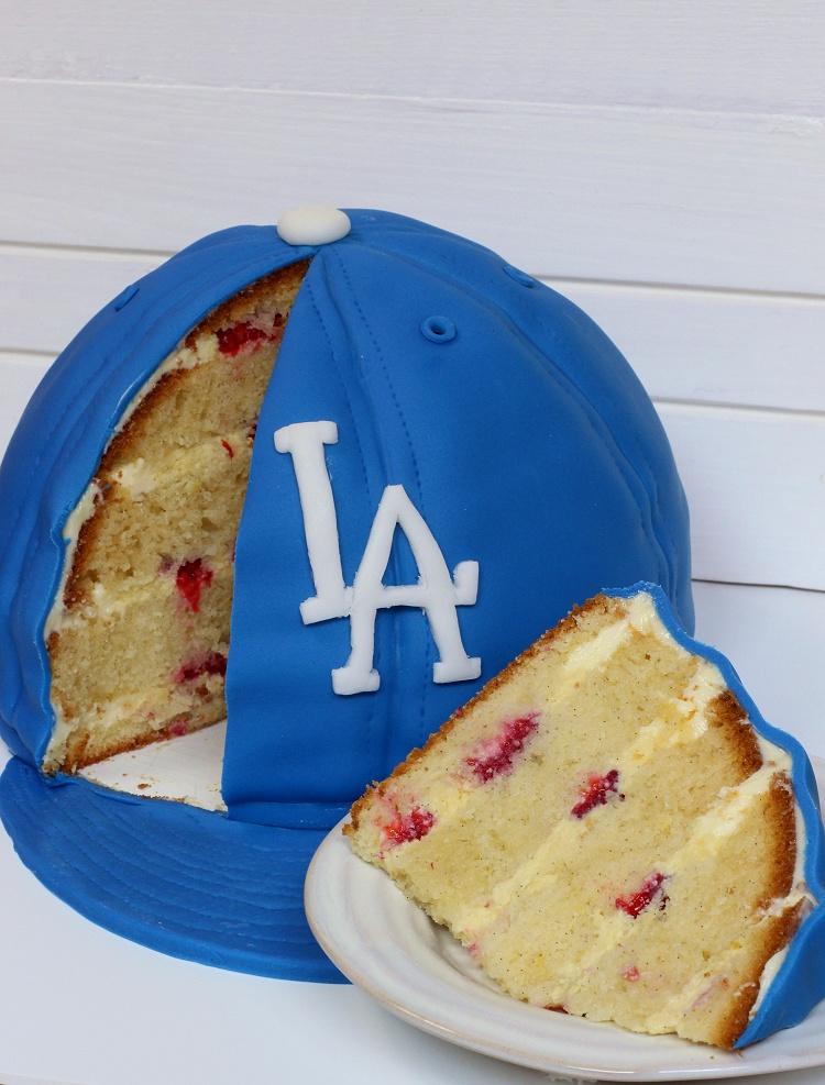 Baseball Cap Cake - Baseballkappen-Motivtorte - Kappen-Torte 4