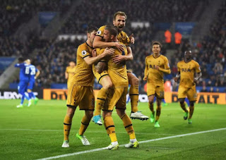 Harry Kane's Four-Goal Haul sinks Leceister