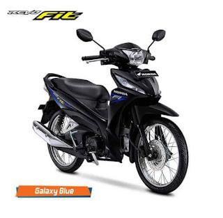 Honda Revo Fit Galaxy Blue