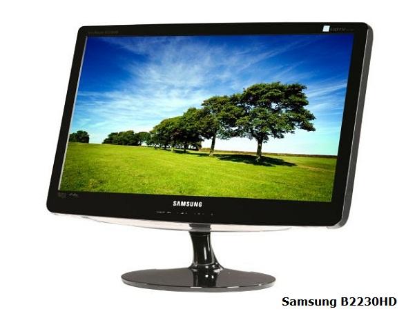 Samsung B2230HD LCD HDTV monitor