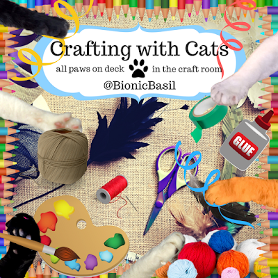 Crafting with Cats Banner at BBHQ ©BionicBasil® All Paws On Deck