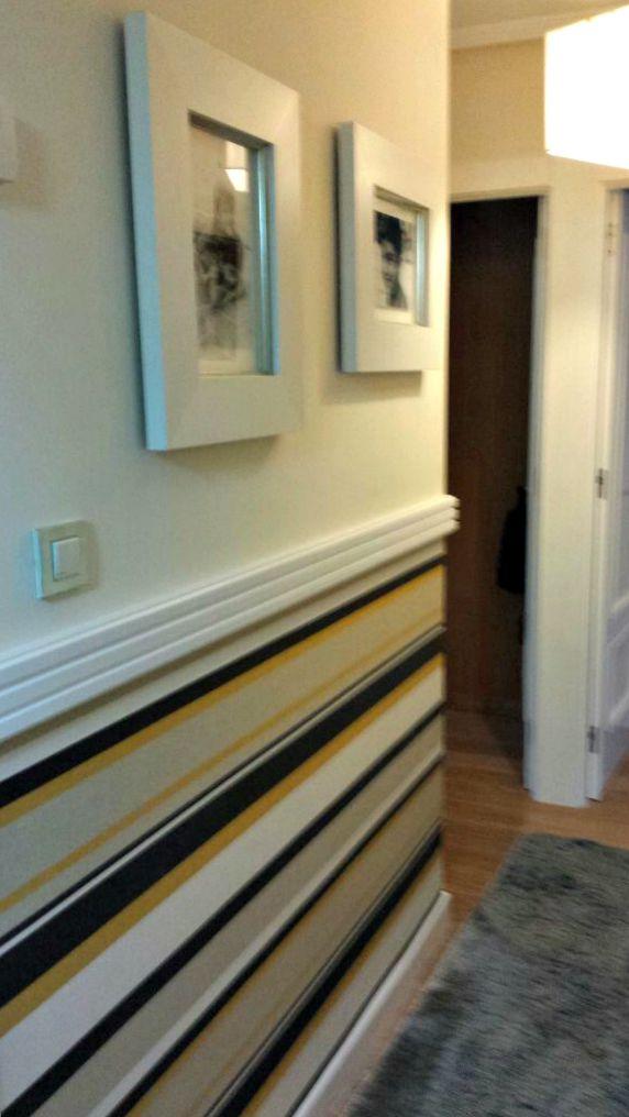 En casa de pilar la entrada - Entradas con papel pintado ...