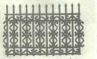sifat bahan pada pagar besi