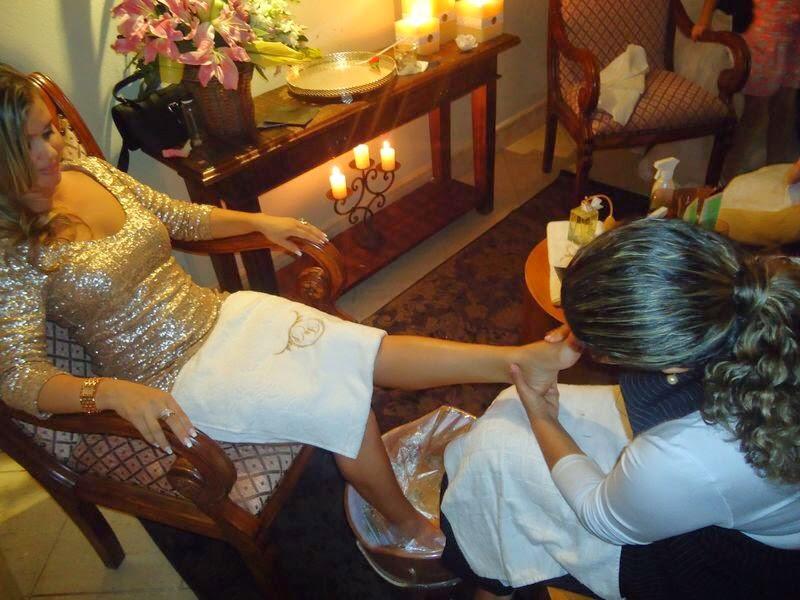Fresca sem frescura spa dos p s durante a festa de casamento for Frescura spa