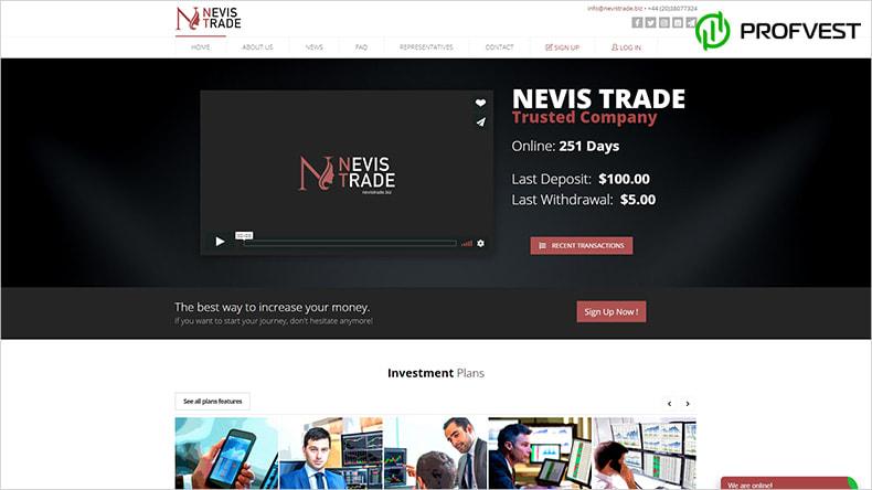 Nevis Trade обзор и отзывы HYIP-проекта