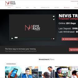 Nevis Trade: обзор и отзывы о nevistrade.biz (HYIP платит)