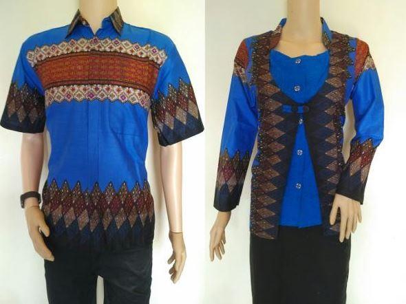25+ Contoh Model Baju Batik Kombinasi 2 Motif 2018
