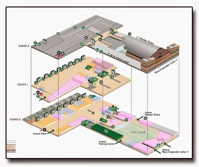 Estacion De Atocha Mapa.Mapa Estacion Atocha Mapa
