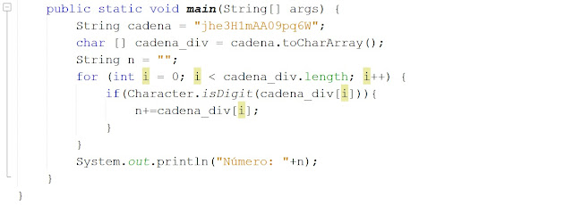 Cómo extraer números de una cadena de texto en Java