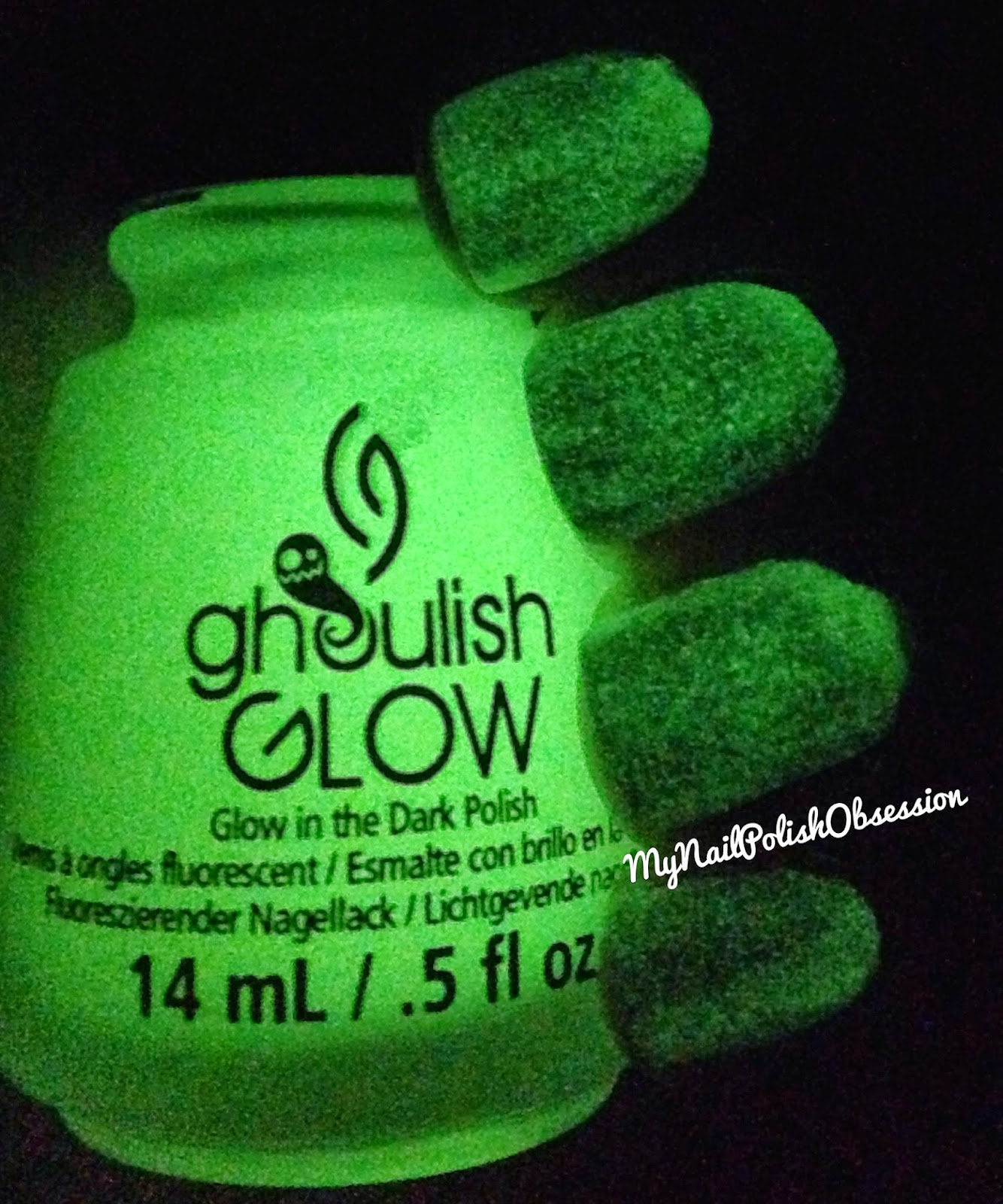 China Glaze Ghoulish Glow