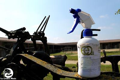Rémanence insectifuge naturel anti-moustiques pour chevaux.
