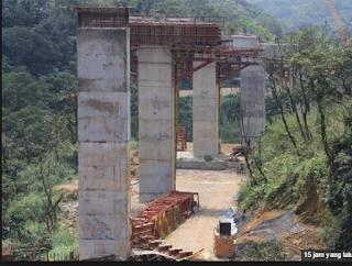 Tki Asal Aceh Pidie Jatuh Dilokasi Konstruksi Ditaipe,Satu Meninggal Dua luka parah