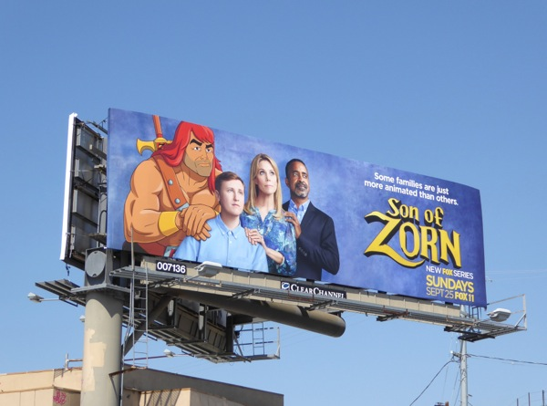 Son of Zorn Some families more animated than others billboard