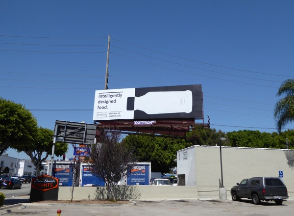 Soylent Intelligently designed food billboard