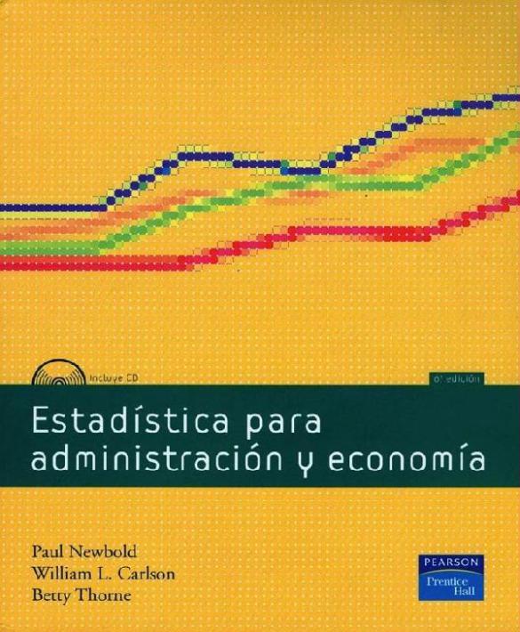 Estadística para Administración y Economía, 6ta Edición – Paul Newbold