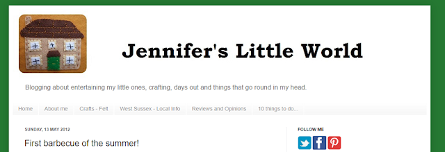 How my blog looked back in 2012