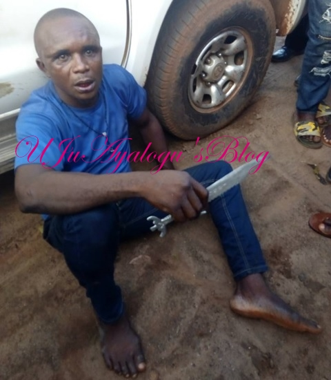 Commercial Driver Lands in Hot Soup After Stabbing Two FRSC Officials in Benue (Photos)