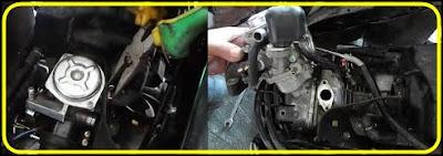 Cara Service Motor Honda Vario 110