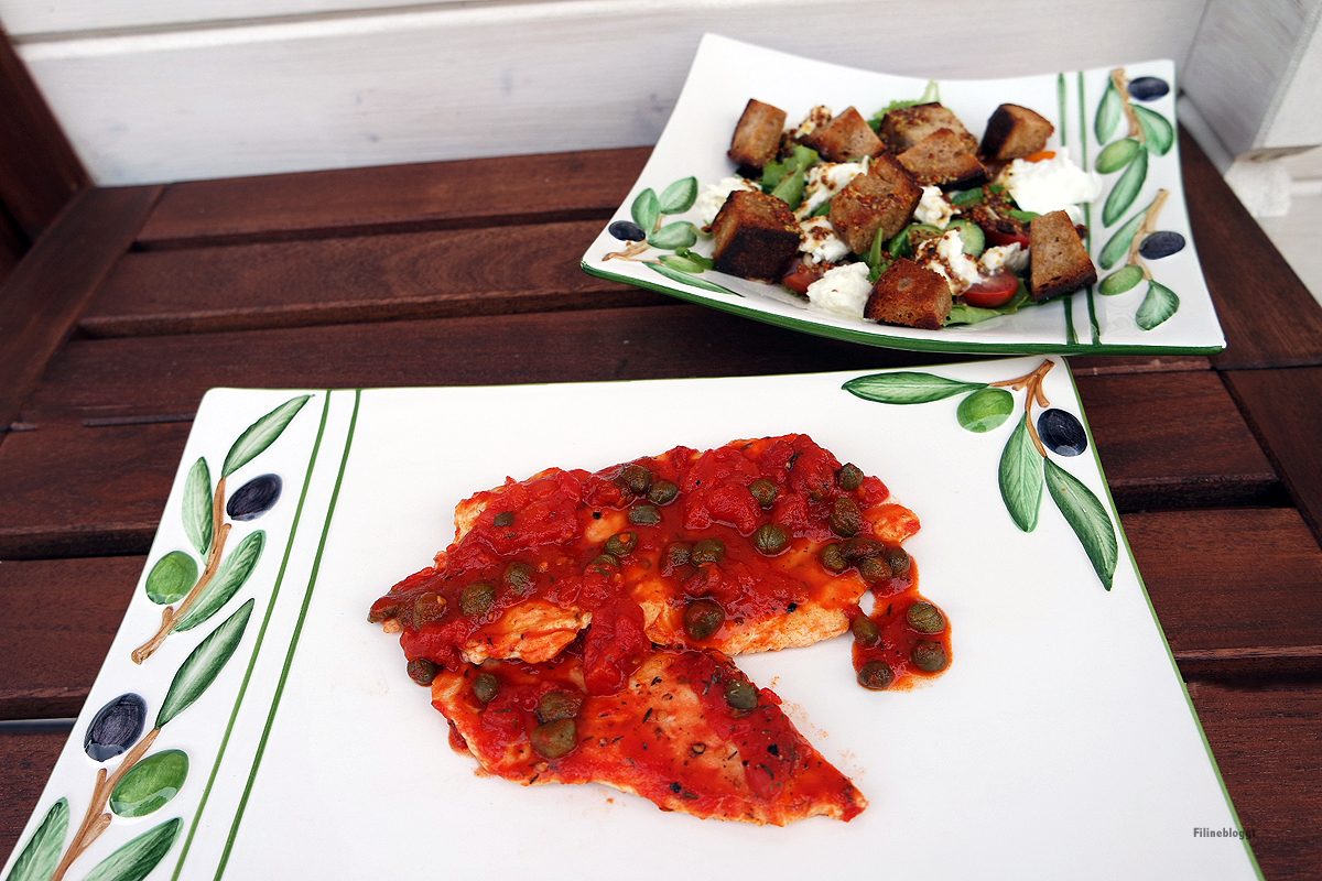 mediterraner brotsalat salatveredler und b ffelmozzarella degustabox bbq filine bloggt. Black Bedroom Furniture Sets. Home Design Ideas