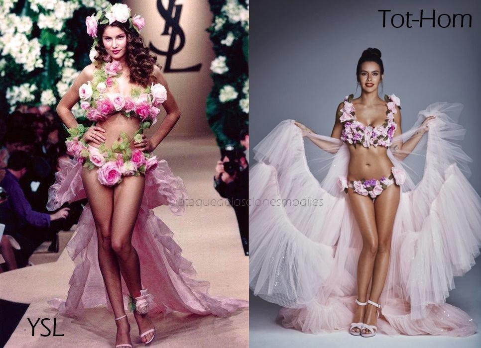 El ModilesClon Ataque Clones Vestido Flores De Los Nochevieja SVzMpqU