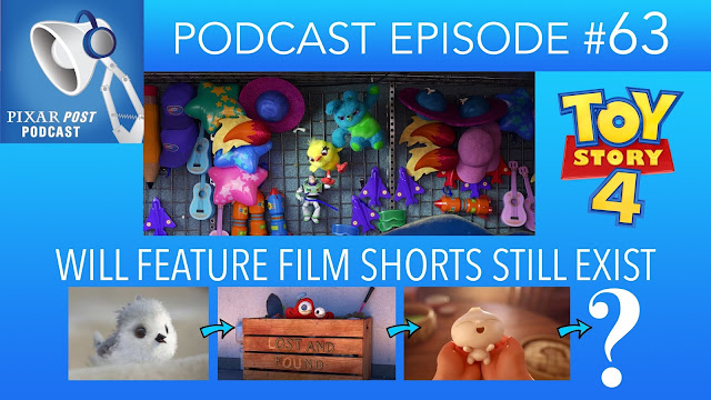 Pixar Post Podcast Toy Story 4 News