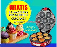 Logo Gratis per te la Macchina per Muffin e Cupcakes Ariete: scopri come averla