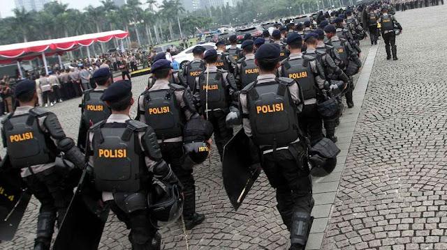 Polisi Kerahkan 8 Ribu Pasukan Amankan Demo anti-Ahok 4 November 2016