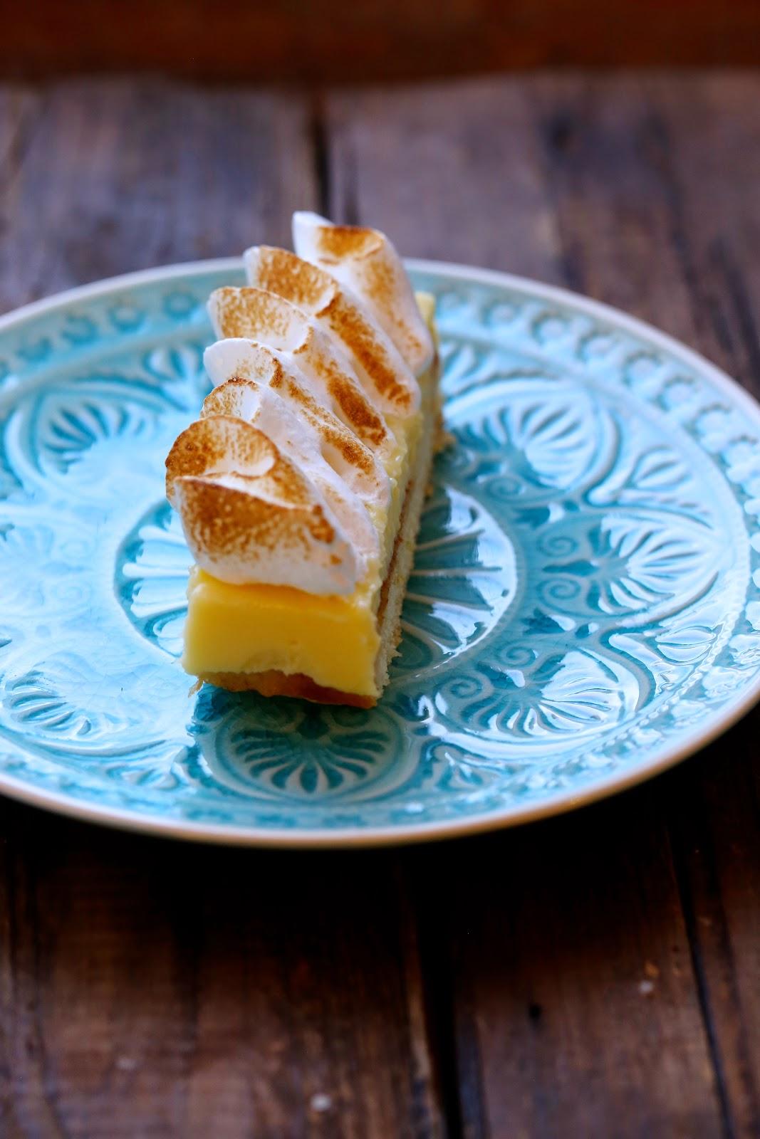 tarte citron , meringuée revisitée