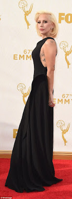 stars on The 67th Emmy Awards Red Carpet
