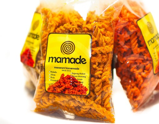 Snack Lebaran Mamade Makaroni Spesial