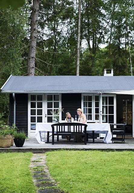 Una casa de campo danesa