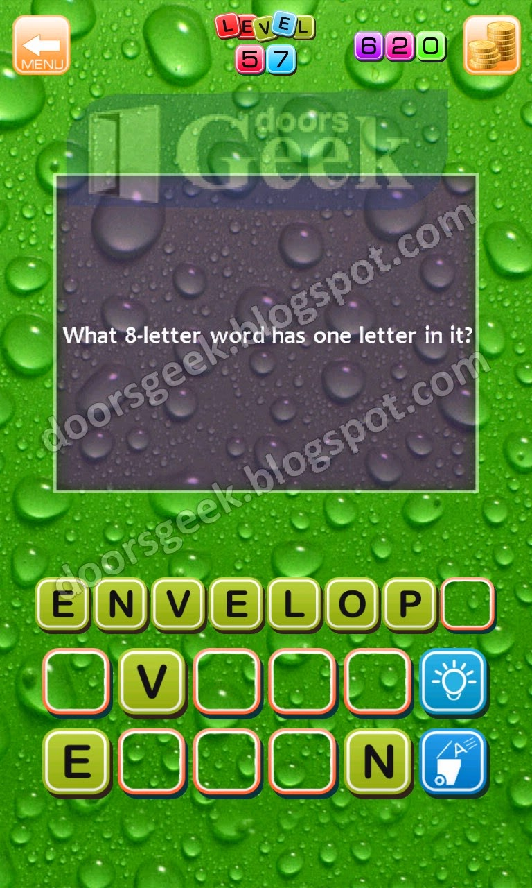 Unriddle Riddle   Level 57 ~ Doors Geek