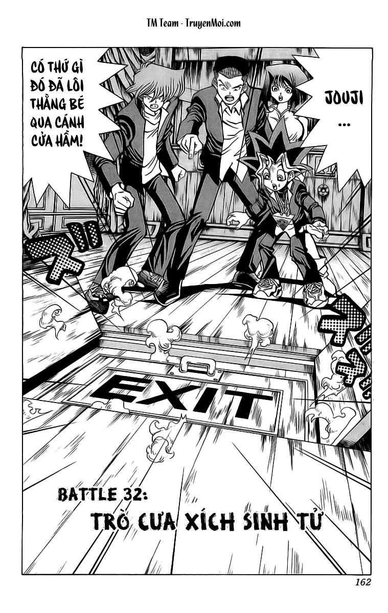 YUGI-OH! chap 32 - trò cưa xích sinh tử trang 2