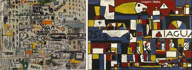 Obras de Joaquín Torres-Garcia no Museu de Arte Latino-Americana de Buenos Aires - Malba