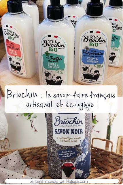 les soins de pour la maison et le corps naturel Made in France de Briochin