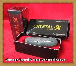 gambar crystal x generasi kedua nasa