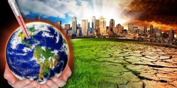 URGENTE: la tierra se tambalea , por el calentamiento global.