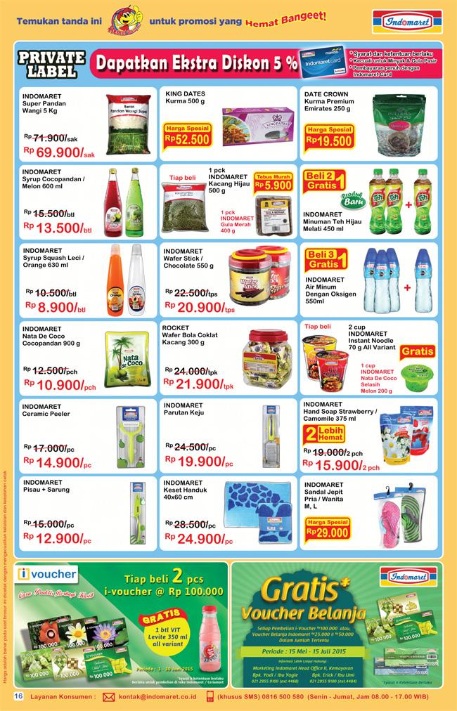 Katalog Indomaret Terbaru 16-30 Juni 2015 | Info Harga Terbaru