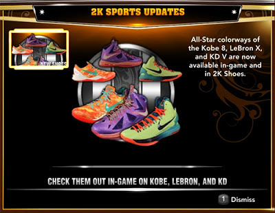 Download NBA 2K13 Roster All-Star Update for PC, XBOX 360 & PS3